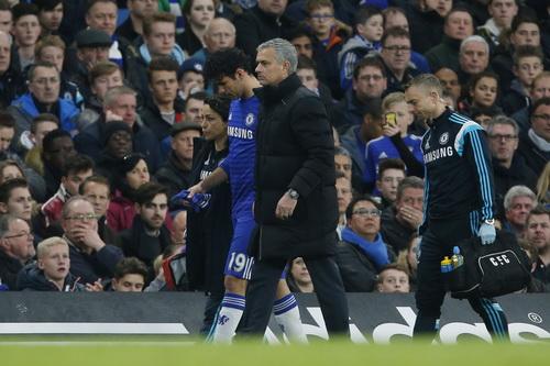 Chấn thương của Costa là mất mát lớn nhất cho Chelsea lúc này