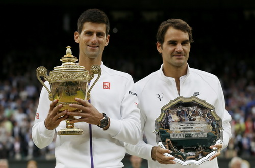 Ngôi á quân không phải là mục tiêu của Federer