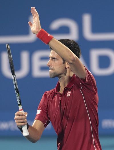 Djokovic bị cúm, mất cơ hội vô địch lần thứ 4 liên tiếp tại Abu Dhabi