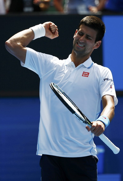 Djokovic tặng chiến thắng cho con trai Stefan tròn ba tháng tuổi