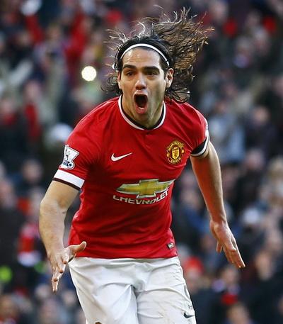 Falcao và bàn thắng giải tỏa áp lực cho Man United và chính anh