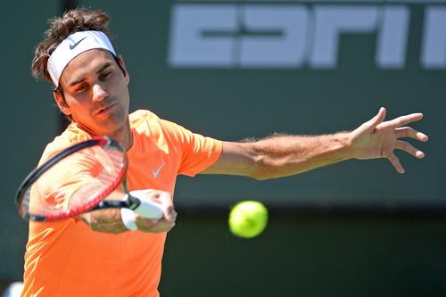 Federer có được ván thắng tuyệt đối...