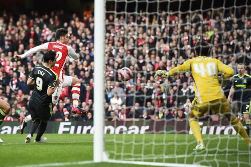 Giroud ghi bàn thắng thứ nhì cho Arsenal