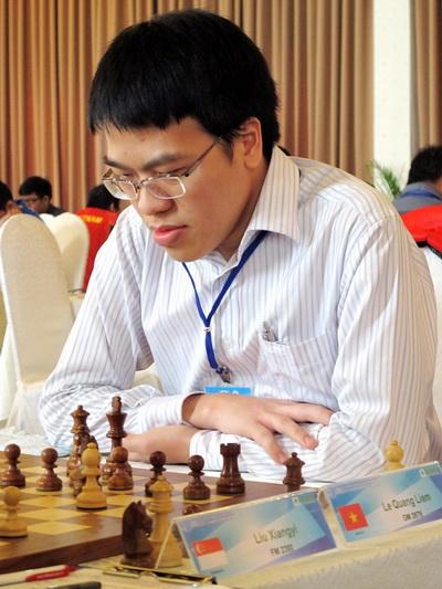 Lê Quang Liêm có chuỗi trận ấn tượng tại vòng loại khu vực 3.3