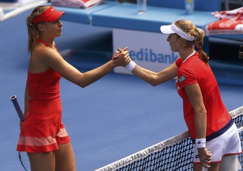 Cuộc chiến giữa hai tay vợt đồng hương không quyết liệt như mong đợi