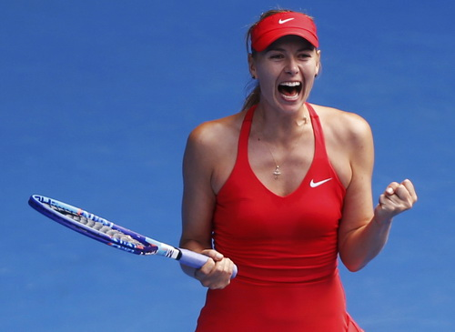 Sharapova lần thứ nhì vào chung kết Úc mở rộng