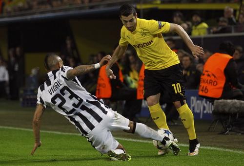 Dortmund bị Juventus chặn bước