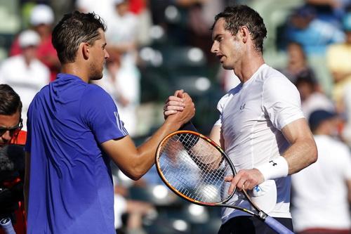 Andy Murray mơ chức vô địch thứ ba tại Miami