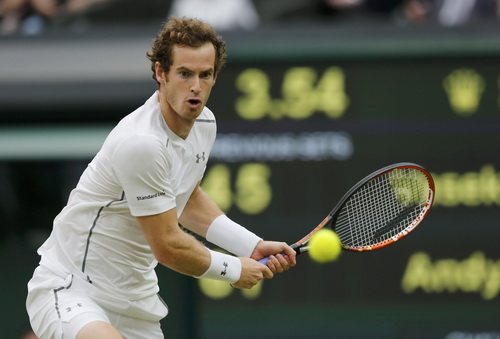 Andy Murray tự tin khi thi đấu trên sân nhà London