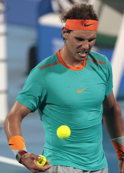Nadal hài lòng với vị trí thứ 3