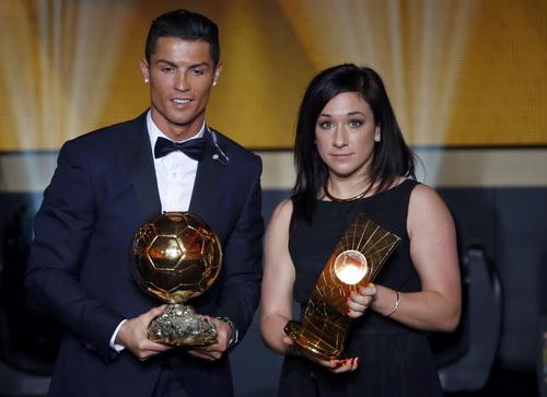 Hai Quả bóng vàng Cristiano Ronaldo và Nadine Kessler