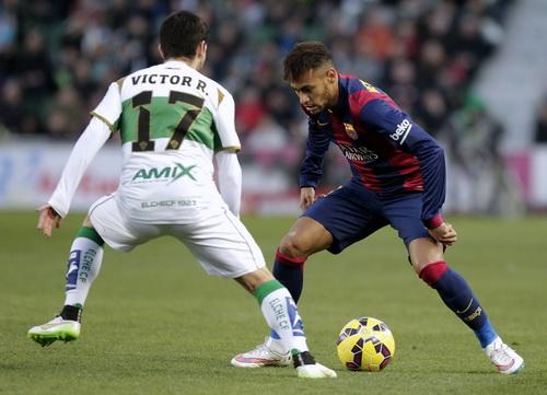Neymar nổ súng sau 12 trận tịt ngòi