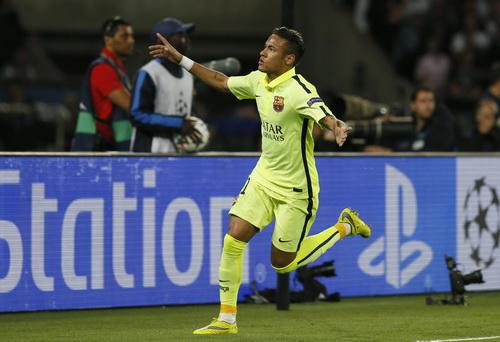 Neymar ghi bàn mở tỉ số cho Barcelona