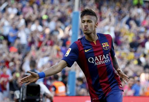 Neymar mở tỉ số cho Barcelona