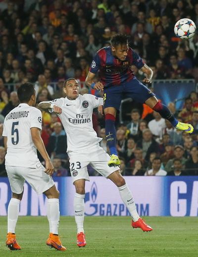 Neymar ghi bàn thứ nhì trong trận, pha lập công thứ 30 mùa này của riêng anh