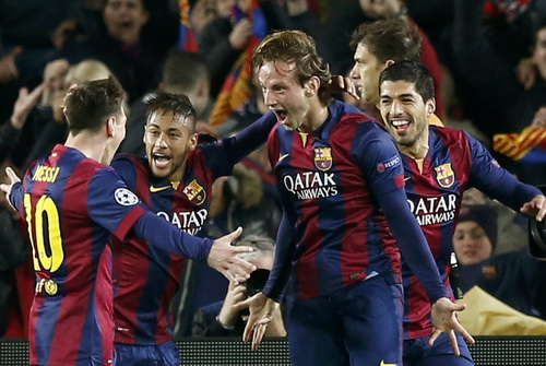 Barcelona giành quyền vào tứ kết