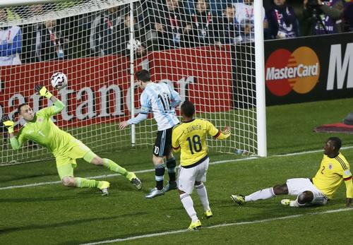 Colombia chơi phòng ngự rất hay, làm nản lòng các chân sút Argentina