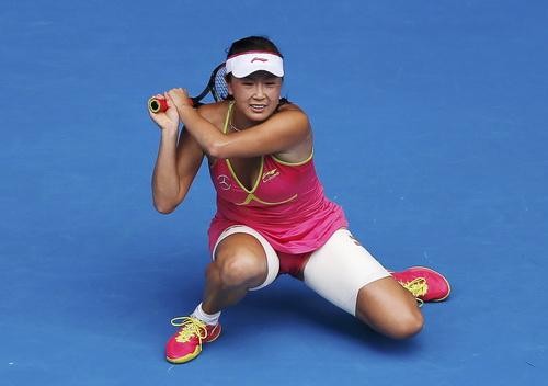 Peng Shuai không đối đầu sòng phẳng với Sharapova