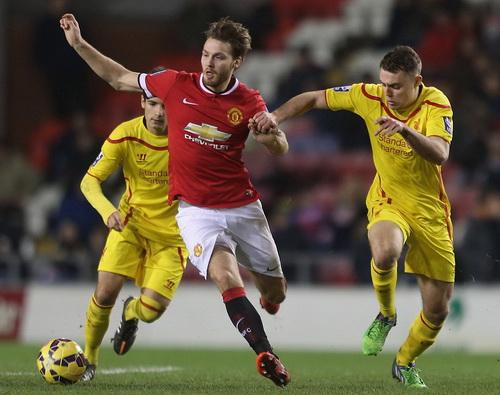 Nick Powell mở tỉ số cho U21 Man United