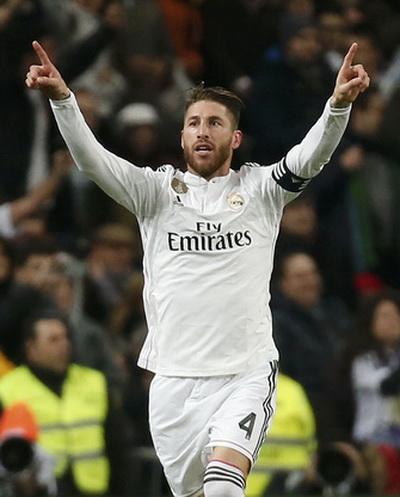 Ramos chuộc lỗi bằng bàn gỡ phút 20