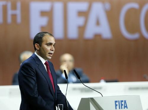 Hoàng thân Jordan Ali Bin Hussein có thể sẽ tiếp tục ra tranh cử chức chủ tịch FIFA