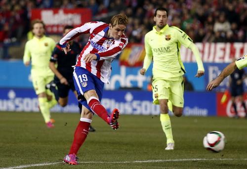 Torres ghi bàn từ... giây 39 cho Atletico