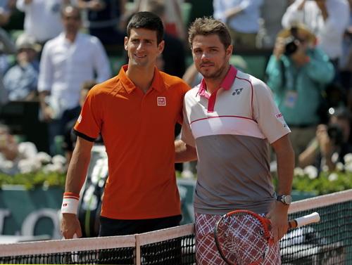 Djokovic nhiều khả năng tái đấu Wawrinka ở bán kết