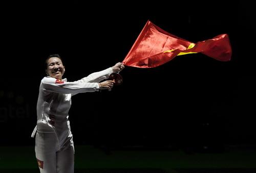 Niềm vui chiến thắng của Trần Thị Len