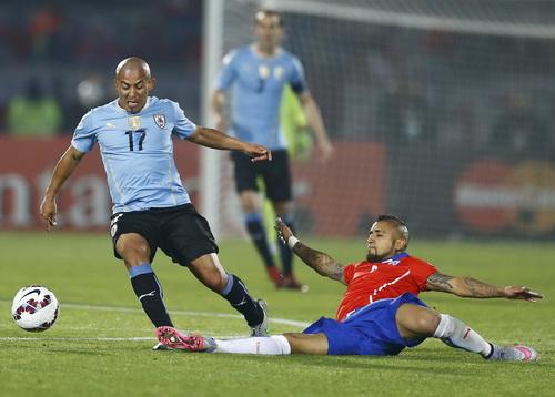 Vidal là nhân tố quan trọng trong đội hình Chile