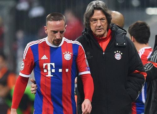 Bác sĩ Muller-Wohlfahrt và Ribery