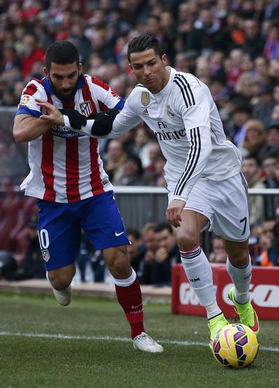 Ronaldo và hàng công nguyên tử Real tịt ngòi