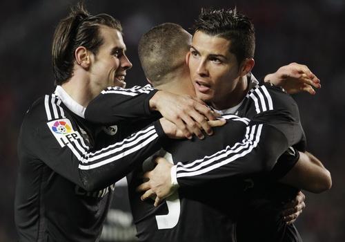 Niềm vui của Ronaldo - Bale - Benzema