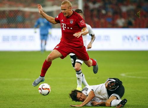 Dàn cầu thủ dự bị của Bayern thi đấu tích cực ở hiệp hai
