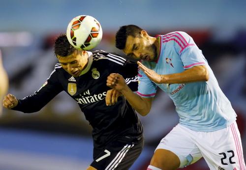 Real Madrid khởi đầu chật vật trước chủ nhà Celta Vigo
