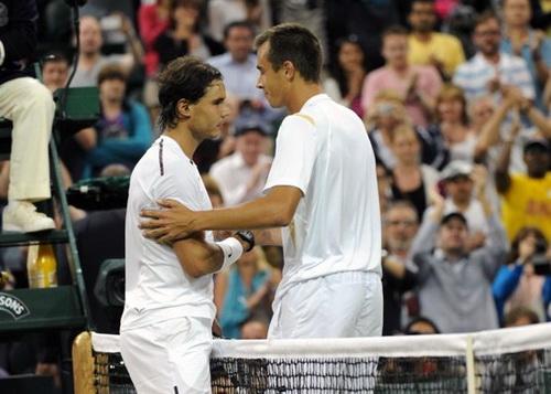 Nadal từng thua sốc Rosol ở Wimbledon 2012