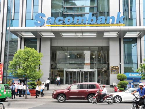 Trụ sở của Sacombank tại TP HCM