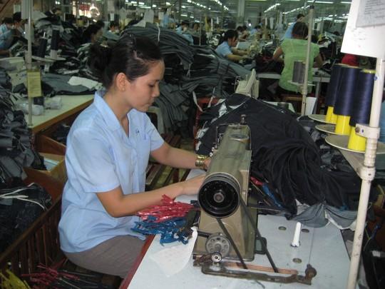 Tình hình Công ty CP May Sài Gòn 3 bất ổn khiến tâm lý công nhân bất an ẢNH: BẢO KHA)