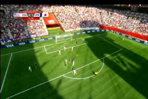 Phần sân chói nắng suốt hiệp 1 đã mang lại bất lợi lớn cho tuyển Nhật Bản