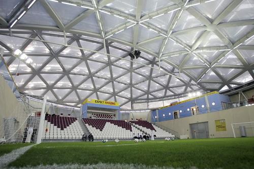 Một sân bóng tham gia đăng cai World Cup 2022 tại Qatar