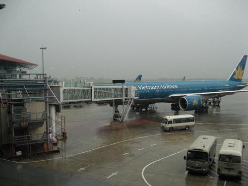 Sân bay Nội Bài (Hà Nội) - Ảnh minh họa