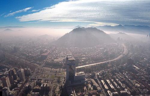 Thủ đô Chile như cái phễu, hứng mọi tác động xấu của môi trường