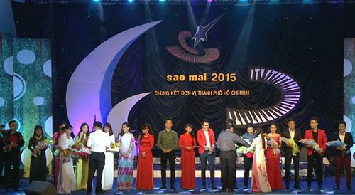 Hình ảnh tại chung kết Giải Sao Mai khu vực TP HCM. (Ảnh do BTC cung cấp)