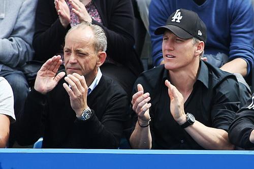 Schweinsteiger ủng hộ nhiệt tình bạn gái Ivanovic