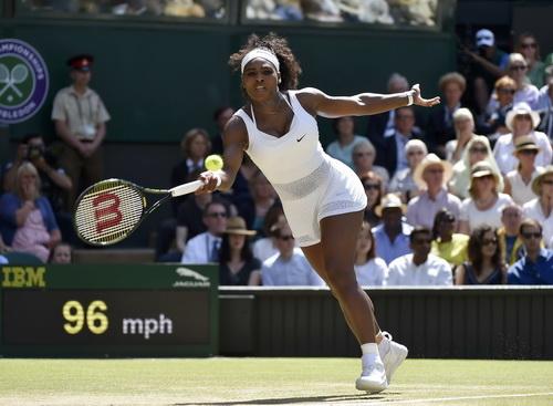 Serena khẳng định đẳng cấp là mãi mãi ở trận chung kết Wimbledon