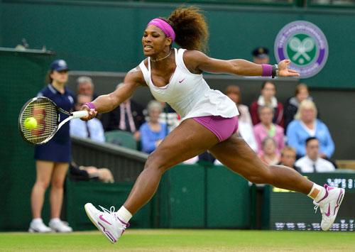 Serena Williams đang có phong độ tốt nhưng 2 năm qua, cô luôn chơi không thành công ở Wimbledon Ảnh: REUTERS