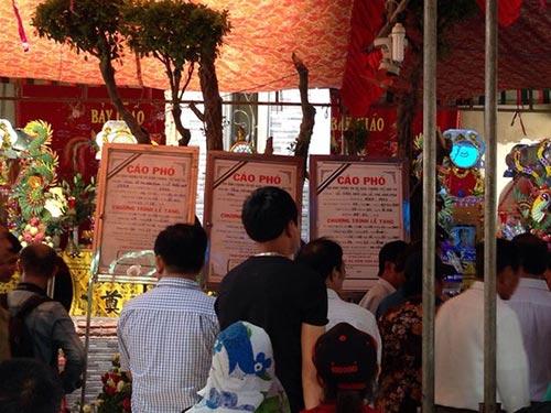 Tang lễ của những nạn nhân bị thảm sát ở Bình Phước Ảnh: LÊ PHONG