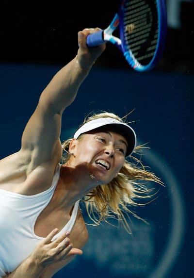 Sharapova đang có phong độ tốt ở giải Brisbane Ảnh: REUTERS