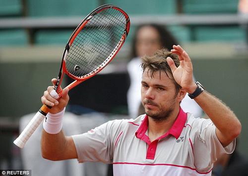 Wawrinka chào thua cách tiếp đón của BTC Roland Garros