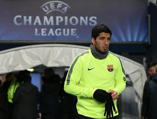 Suarez chuẩn bị cho cuộc trở lại nước Anh