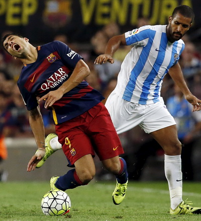 Một trận đấu khó khăn cho Suarez và Barcelona